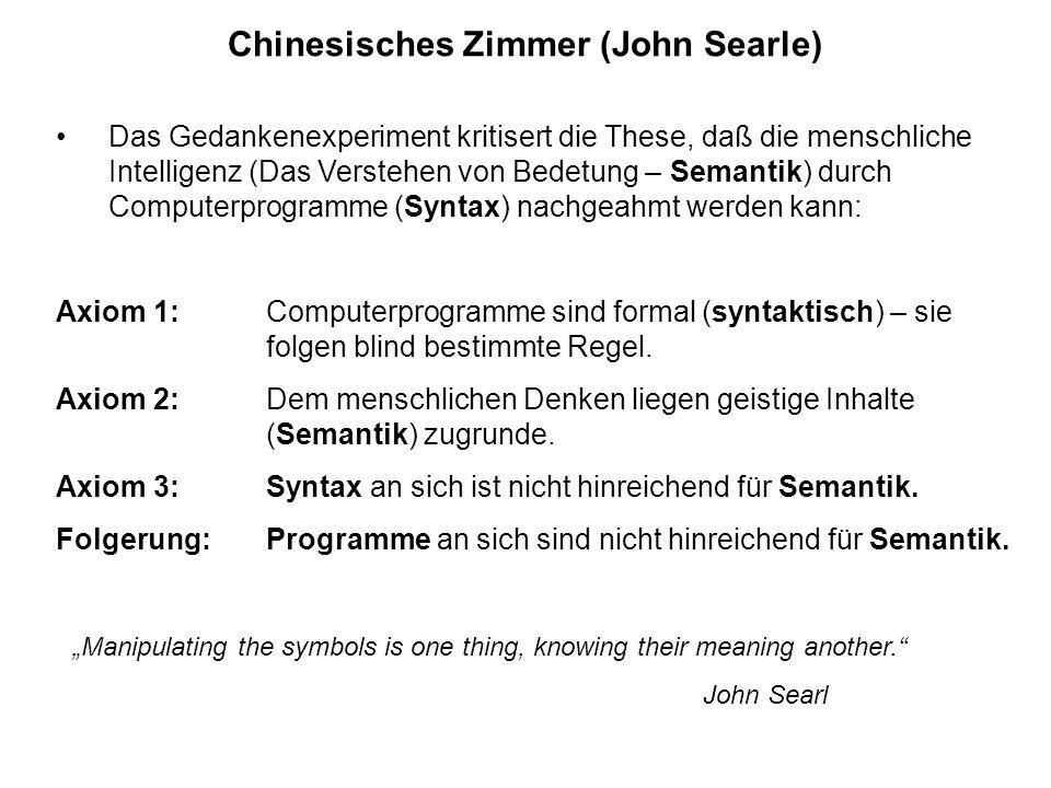 Chinesisches Zimmer (John Searle)