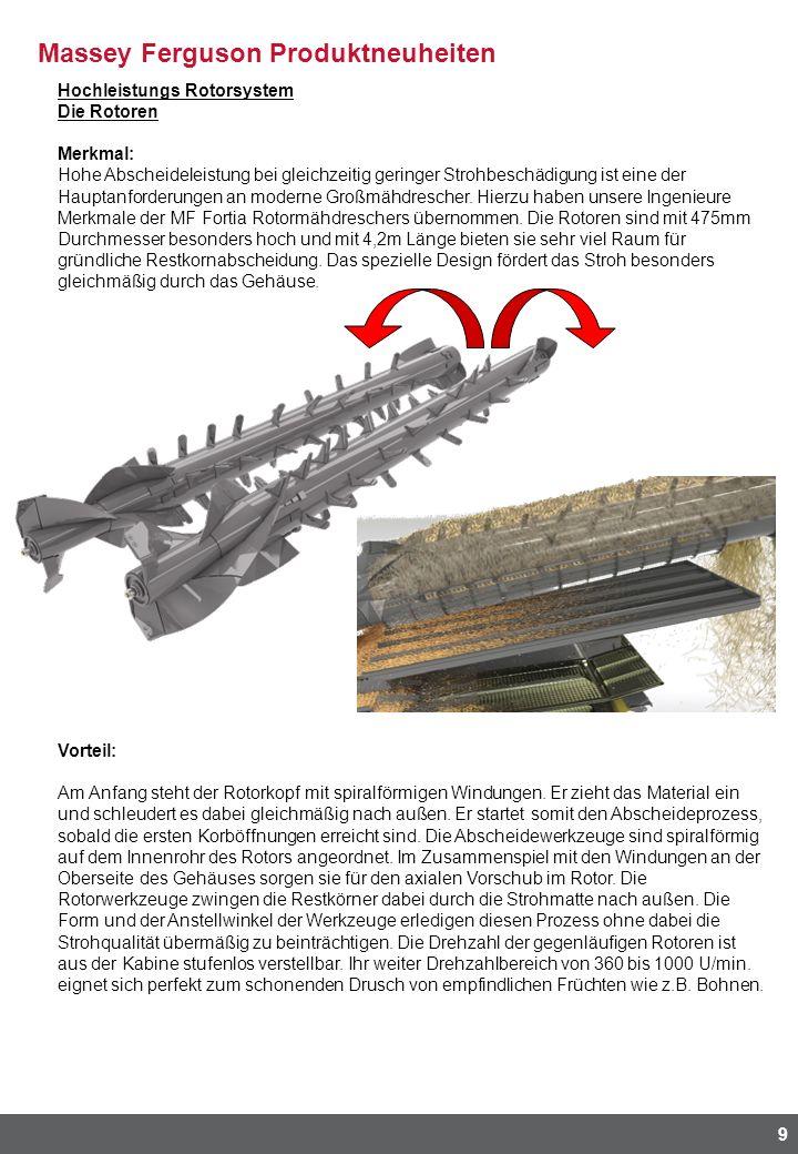 Hochleistungs Rotorsystem
