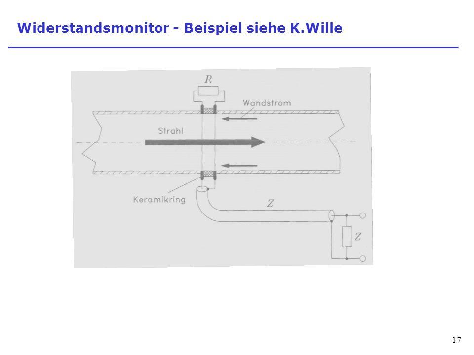 Widerstandsmonitor - Beispiel siehe K.Wille