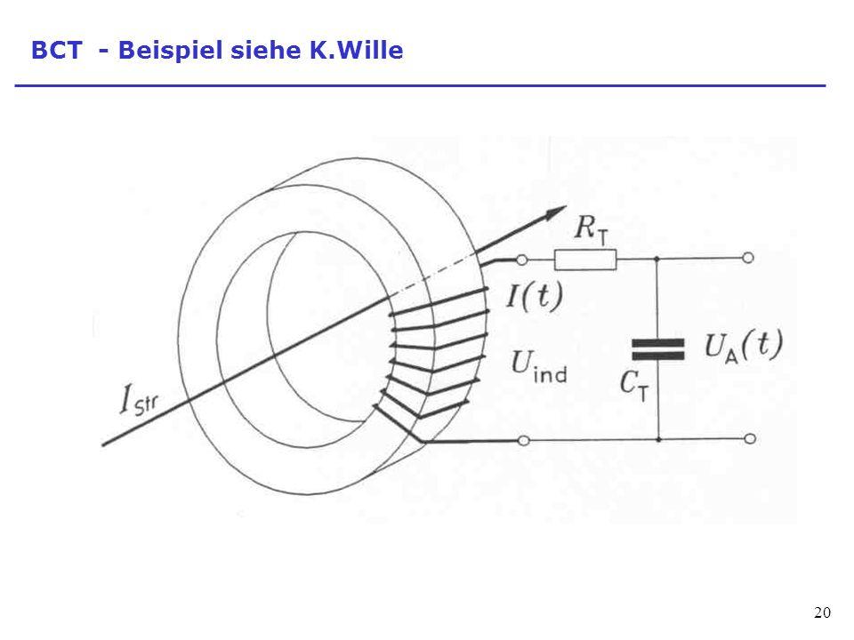 BCT - Beispiel siehe K.Wille