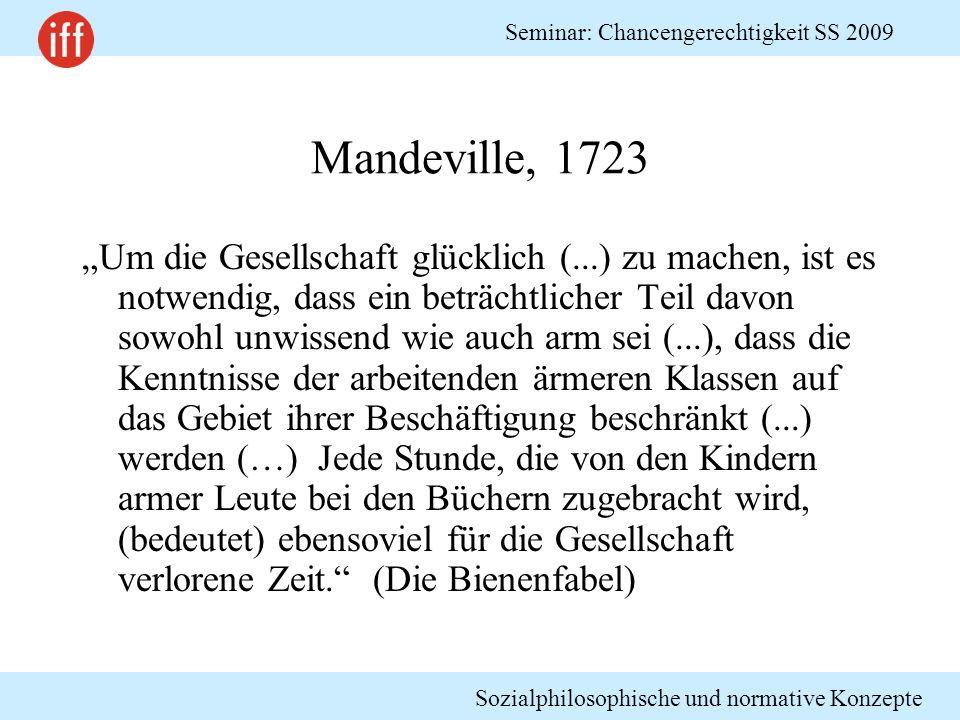 Mandeville, 1723