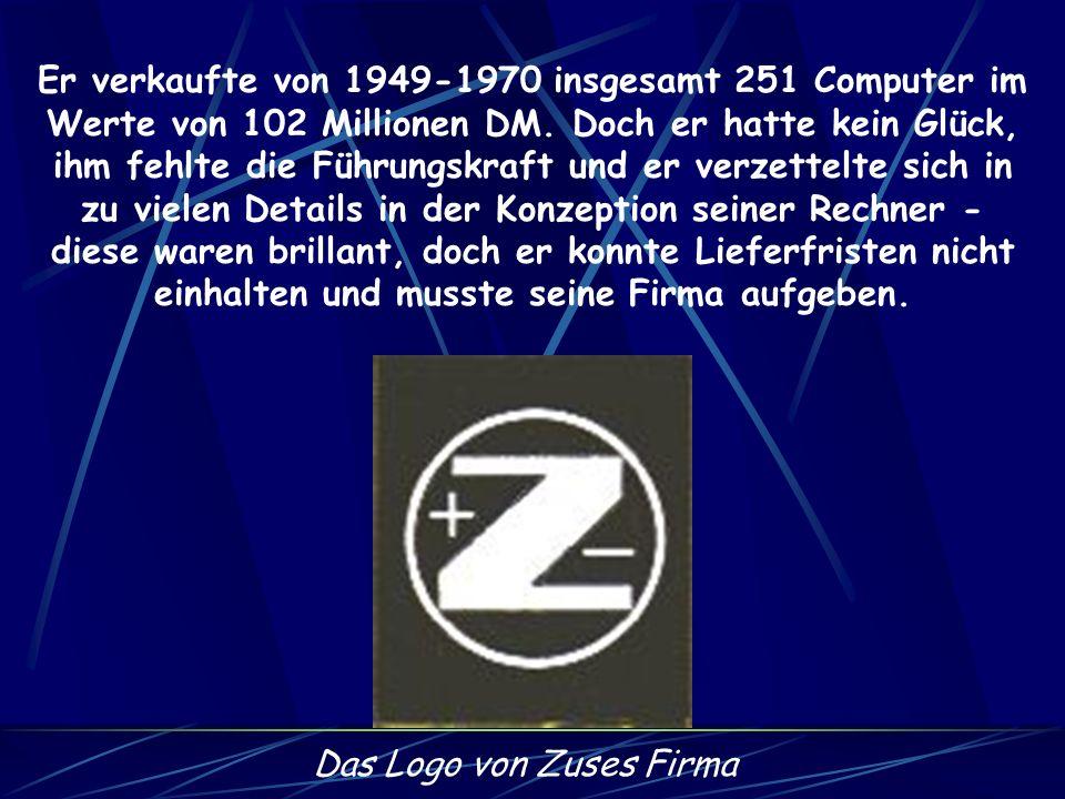 Das Logo von Zuses Firma