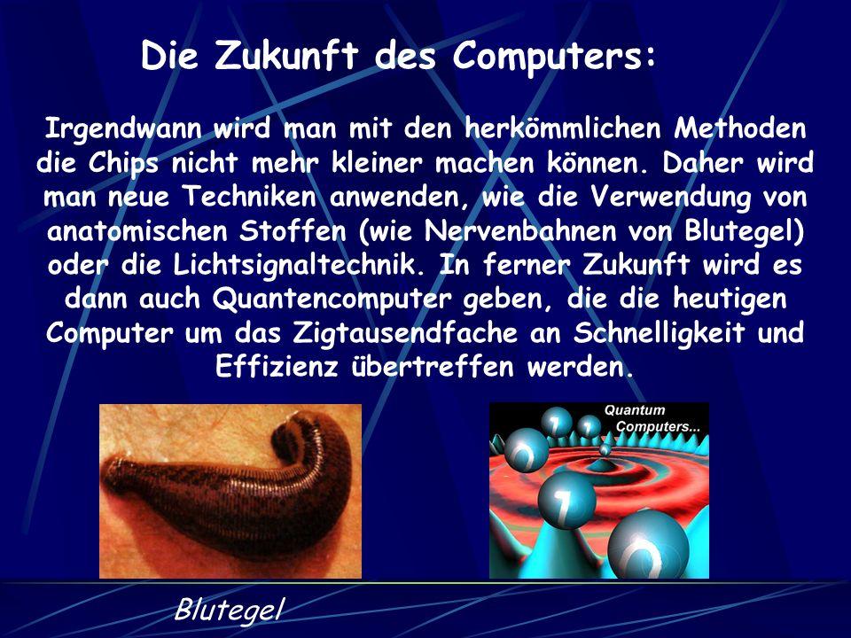 Die Zukunft des Computers: