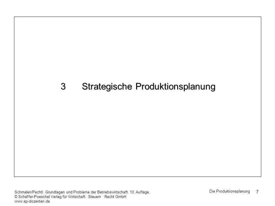 3 Strategische Produktionsplanung