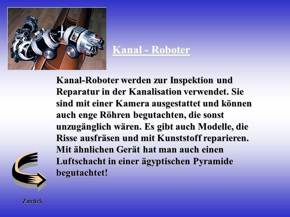 Kanal - Roboter