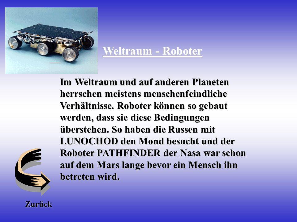 Weltraum - Roboter