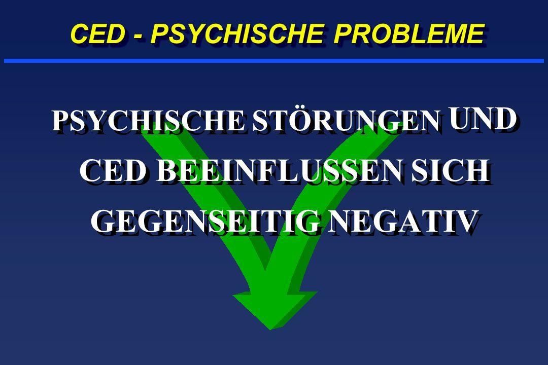 CED - PSYCHISCHE PROBLEME