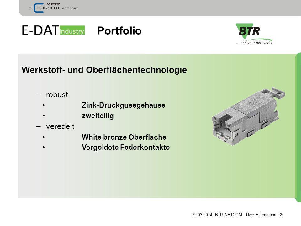 Portfolio Werkstoff- und Oberflächentechnologie robust veredelt