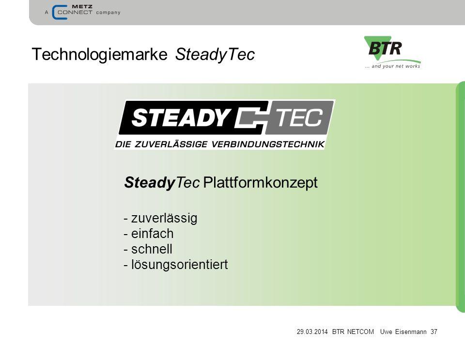 Technologiemarke SteadyTec