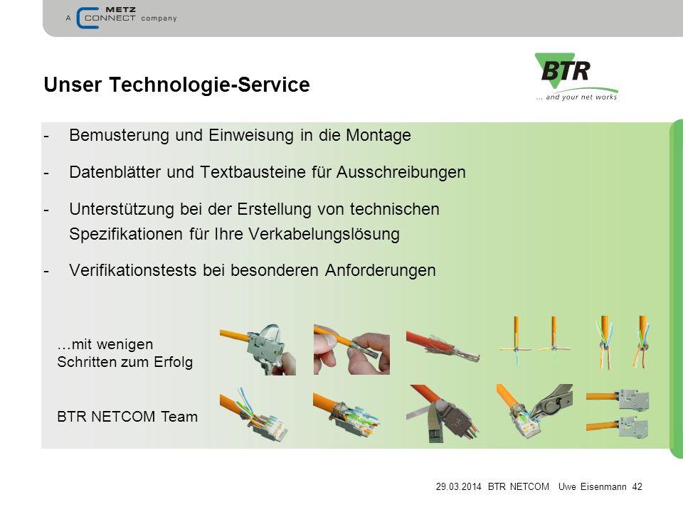 Unser Technologie-Service