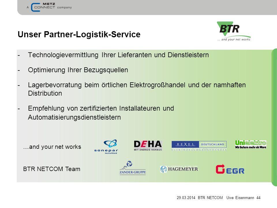 Unser Partner-Logistik-Service
