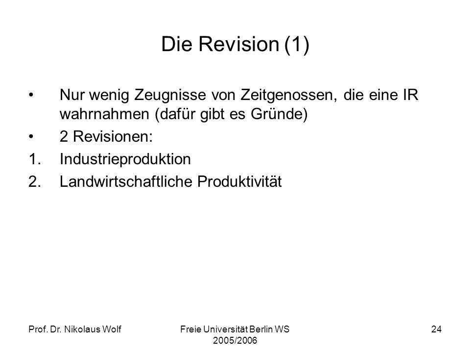 Freie Universität Berlin WS 2005/2006