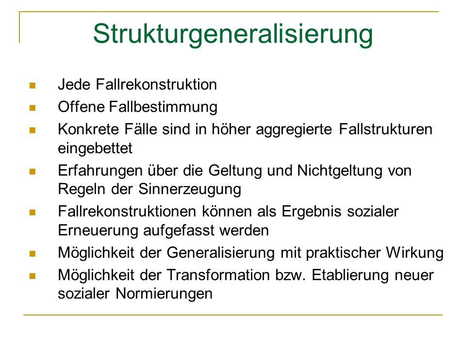Strukturgeneralisierung