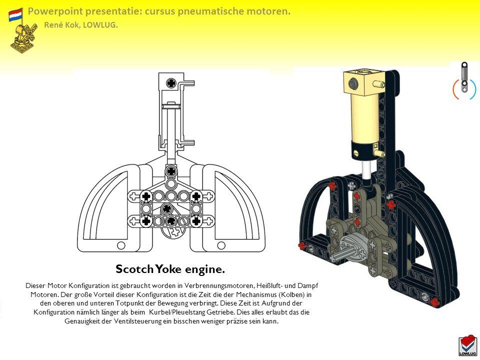 Scotch Yoke engine.