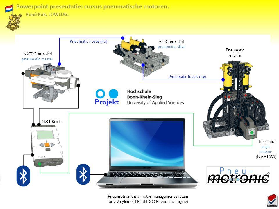 Projekt Pneumatic hoses (4x) Air Controled pneumatic slave Pneumatic