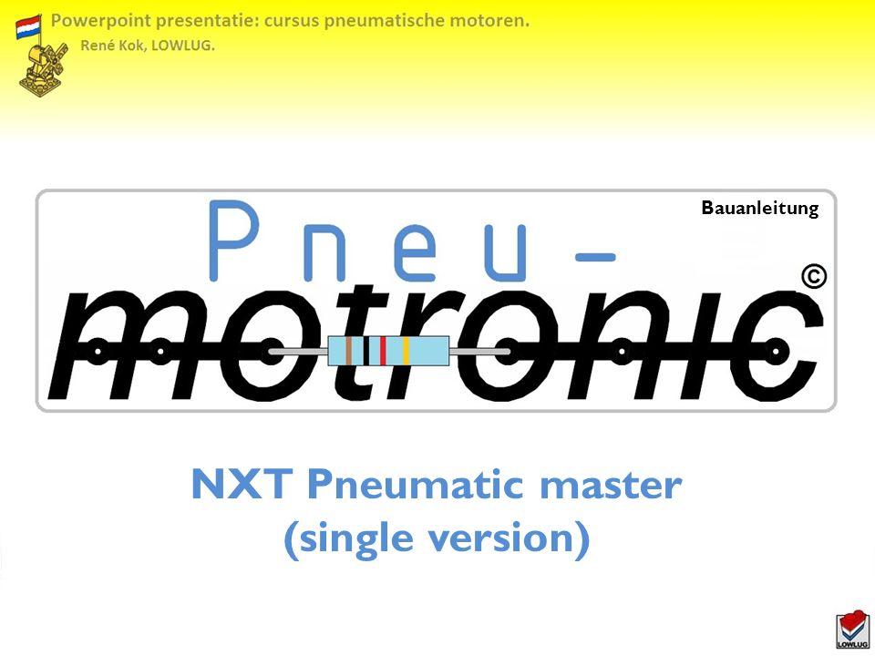 NXT Pneumatic master (single version)