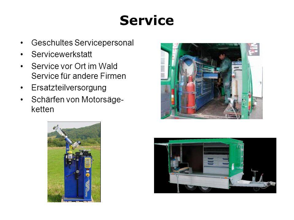 Service Geschultes Servicepersonal Servicewerkstatt