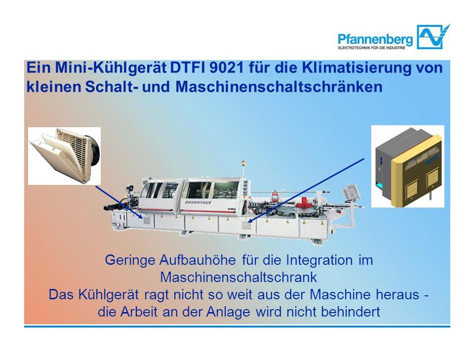 Ein Mini-Kühlgerät DTFI 9021 für die Klimatisierung von