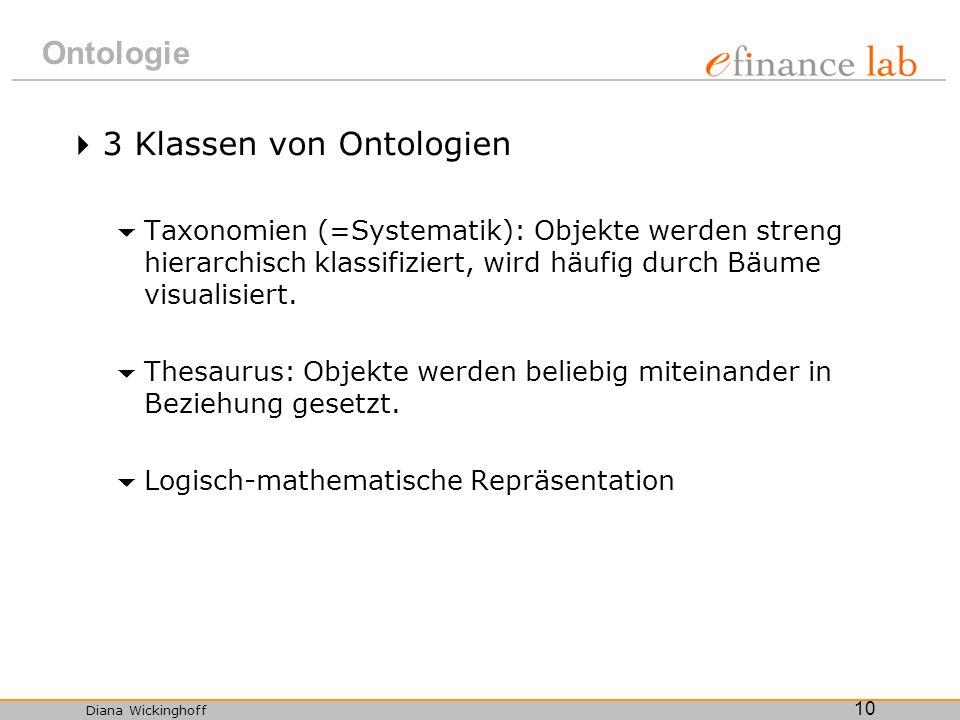 3 Klassen von Ontologien