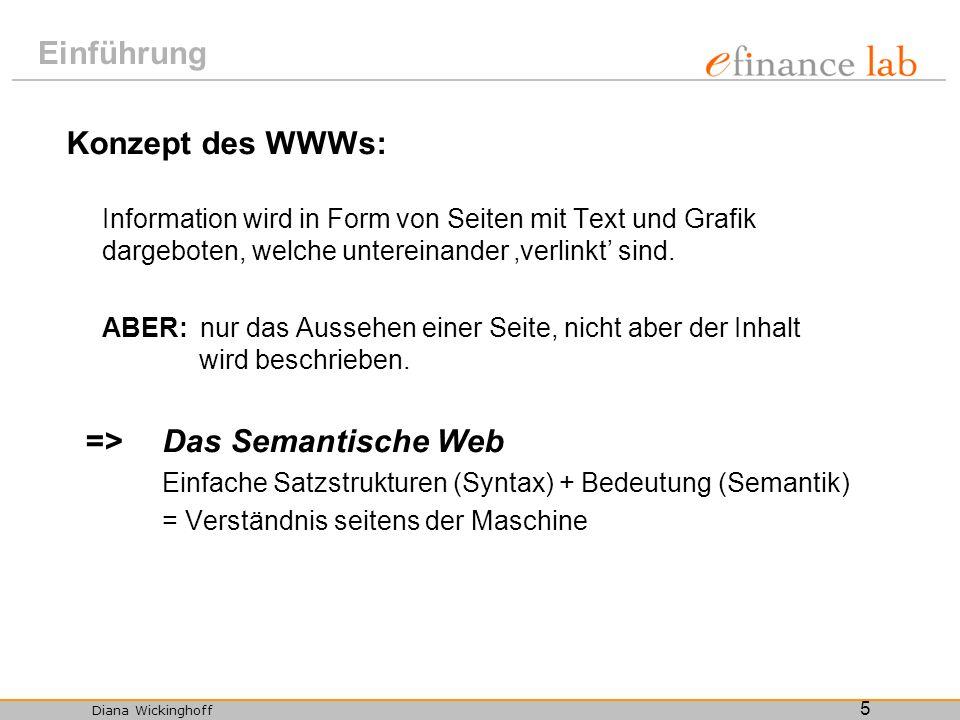 => Das Semantische Web