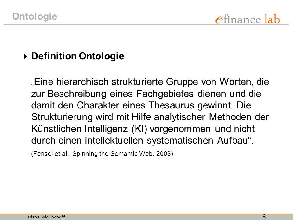 Ontologie Definition Ontologie