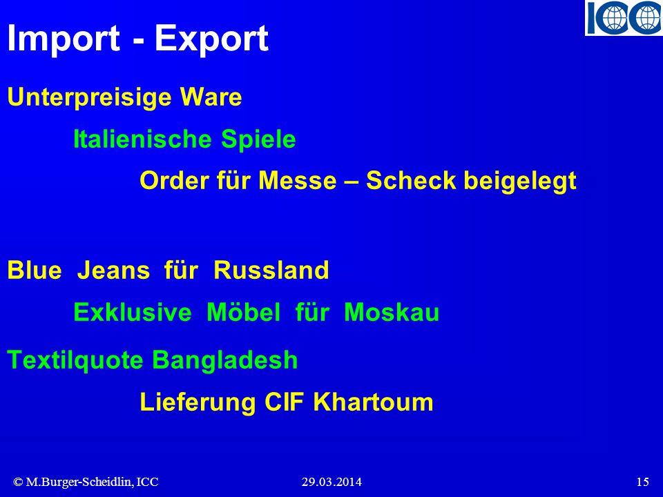 Import - Export Unterpreisige Ware Italienische Spiele Order für Messe – Scheck beigelegt.