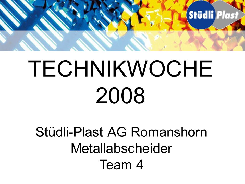Stüdli-Plast AG Romanshorn
