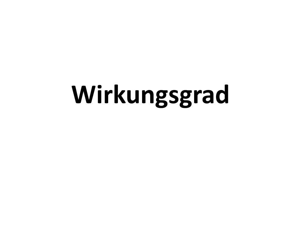 Wirkungsgrad. - ppt video online herunterladen