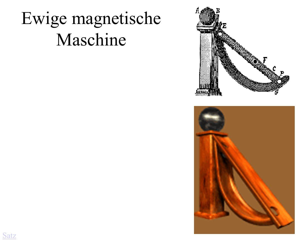 Ewige magnetische Maschine