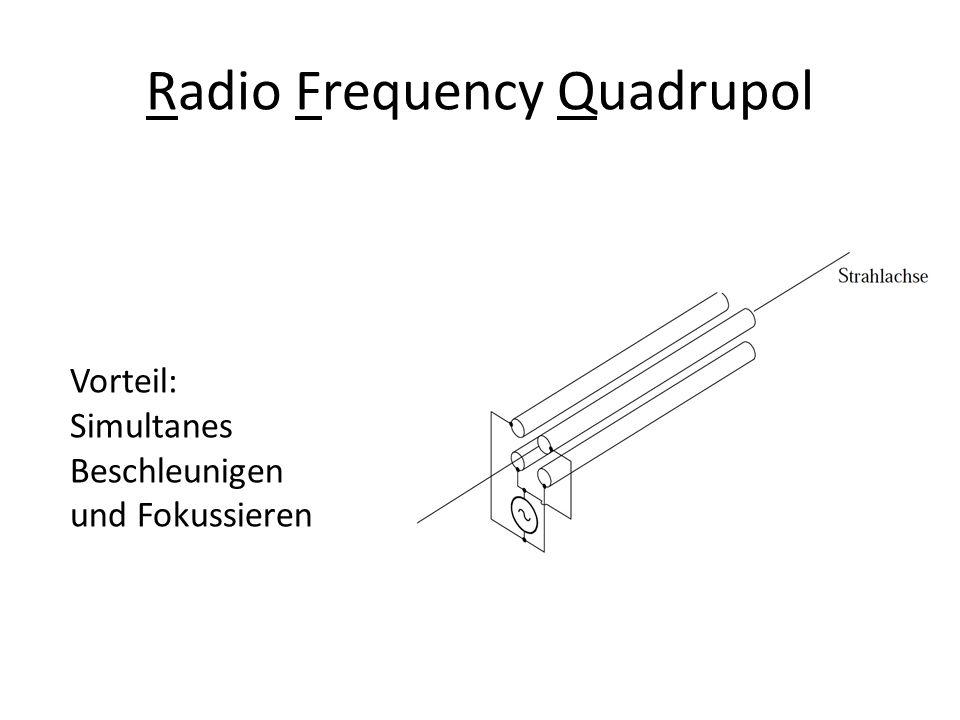 Radio Frequency Quadrupol