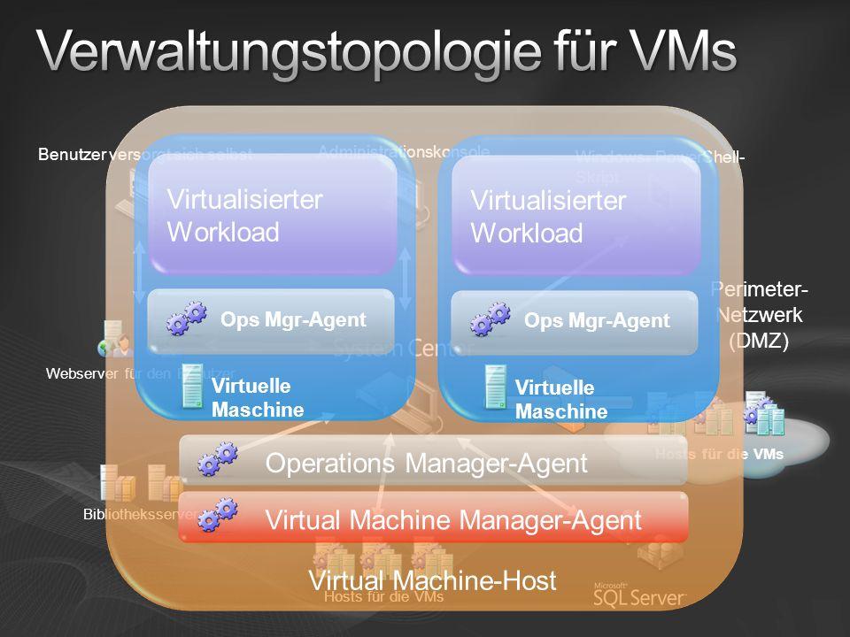 Verwaltungstopologie für VMs