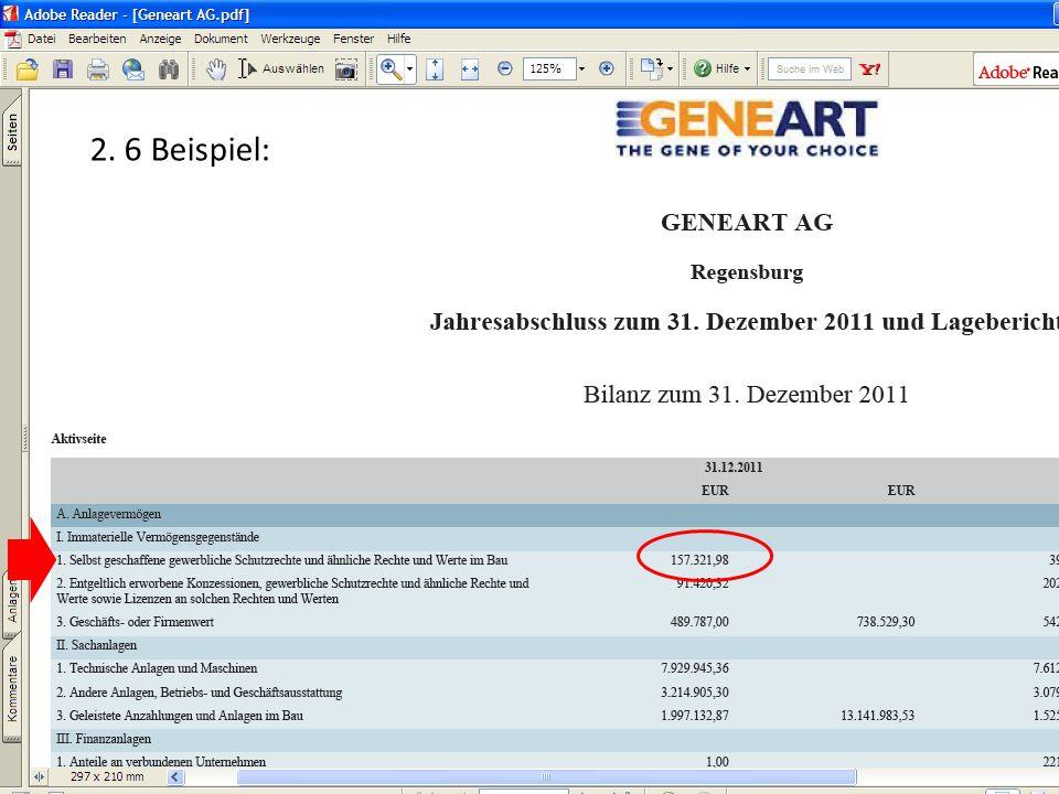 2. 6 Beispiel: (c) Dipl.-Betriebswirtin (FH) K. Barth, Steuerberaterin