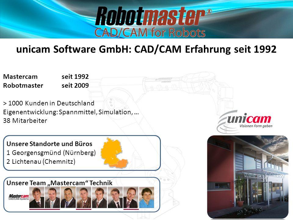 unicam Software GmbH: CAD/CAM Erfahrung seit 1992