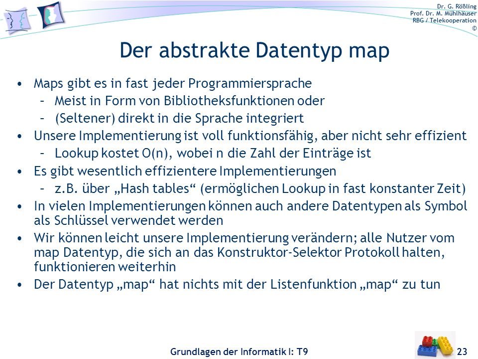 Der abstrakte Datentyp map