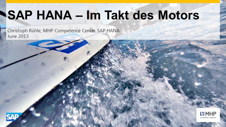 SAP HANA – Im Takt des Motors