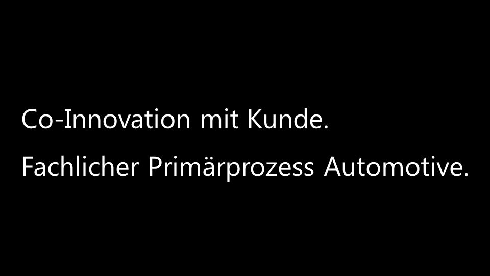Co-Innovation mit Kunde.