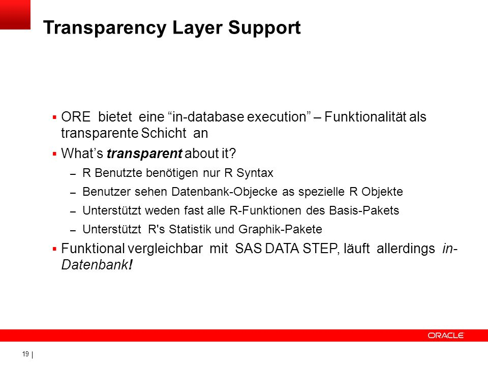 Transparency Layer Support