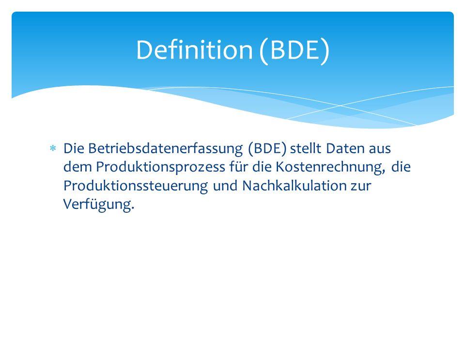 Definition (BDE)