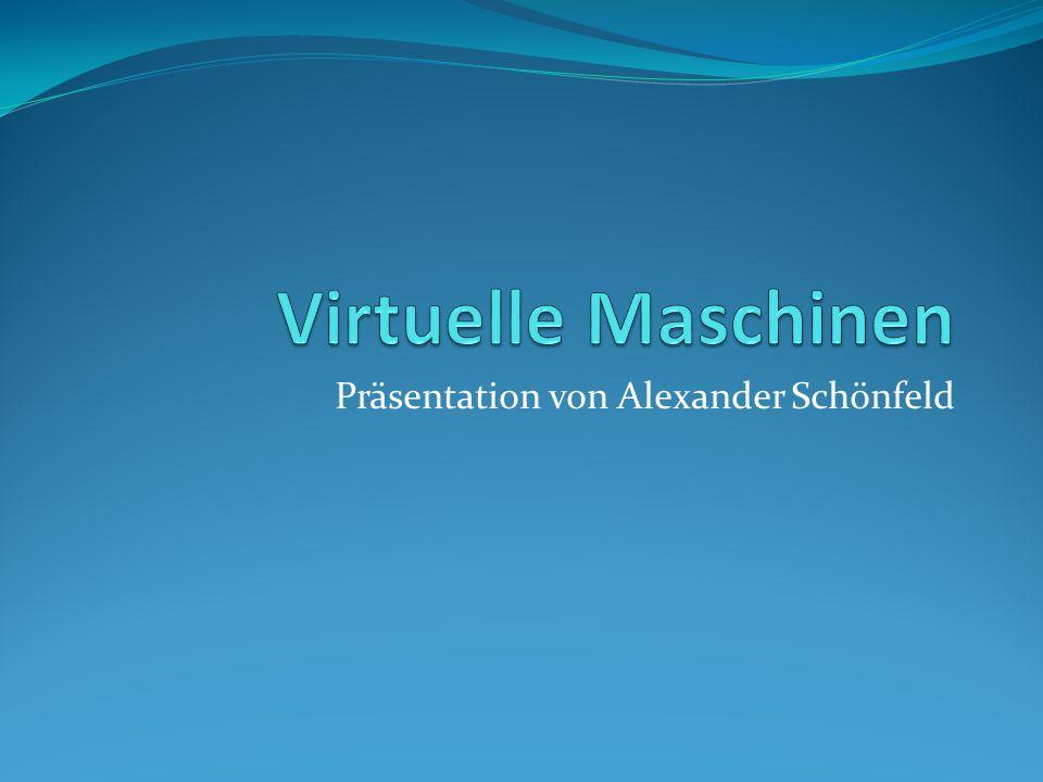 Präsentation von Alexander Schönfeld