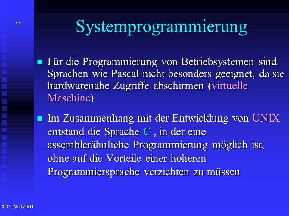 Systemprogrammierung