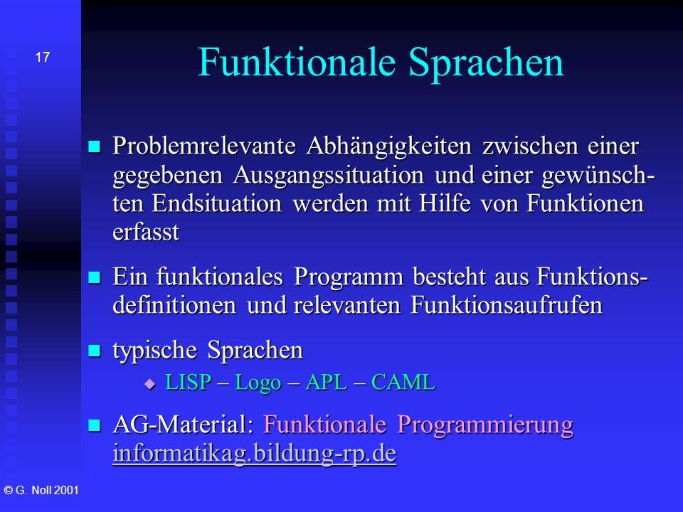 Funktionale Sprachen
