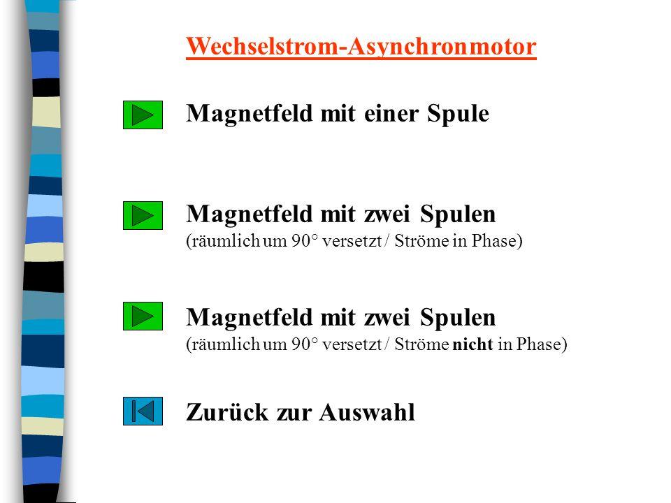 Magnetfeld mit einer Spule