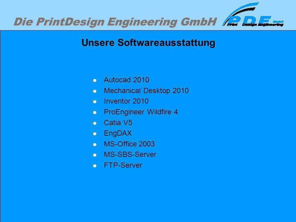 Unsere Softwareausstattung