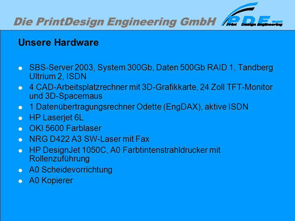 Unsere Hardware SBS-Server 2003, System 300Gb, Daten 500Gb RAID 1, Tandberg Ultrium 2, ISDN.