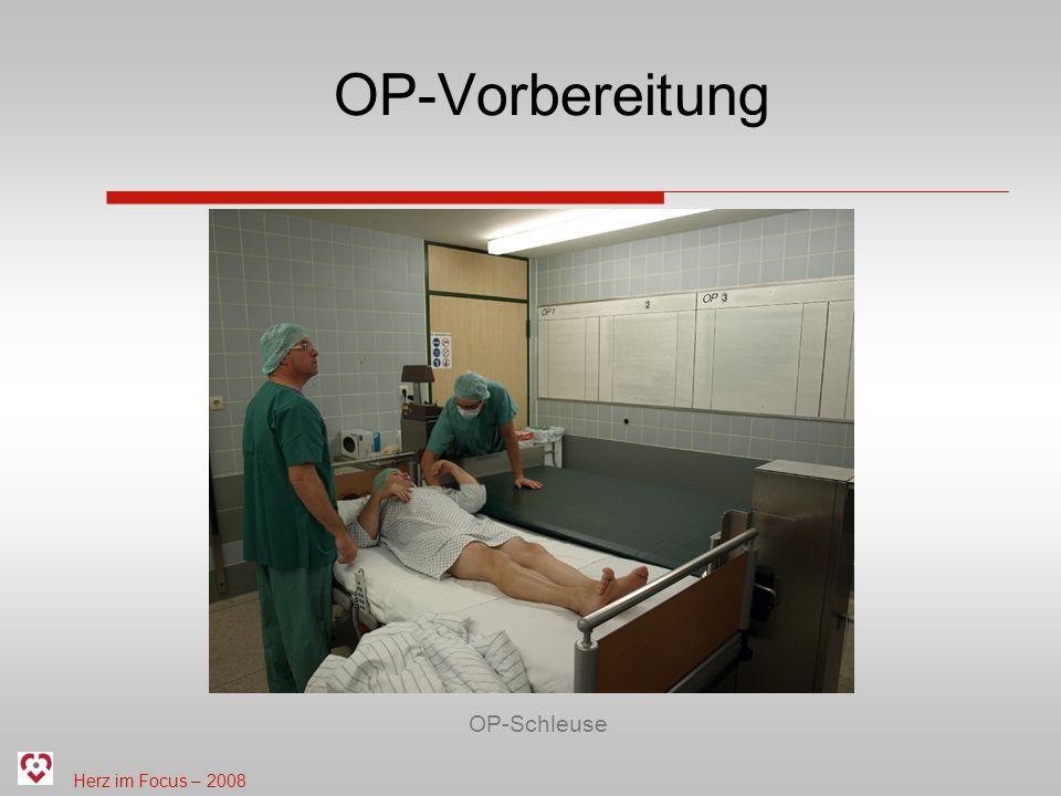 OP-Vorbereitung OP-Schleuse