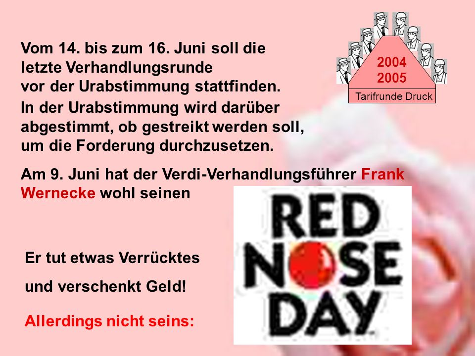 Am 9. Juni hat der Verdi-Verhandlungsführer Frank Wernecke wohl seinen