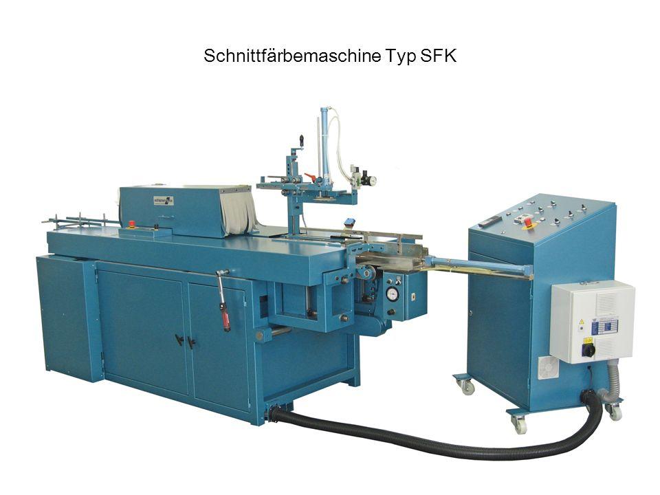 Schnittfärbemaschine Typ SFK