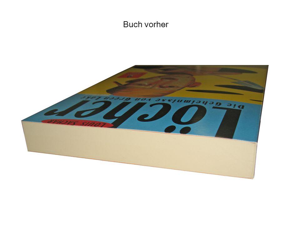 Buch vorher