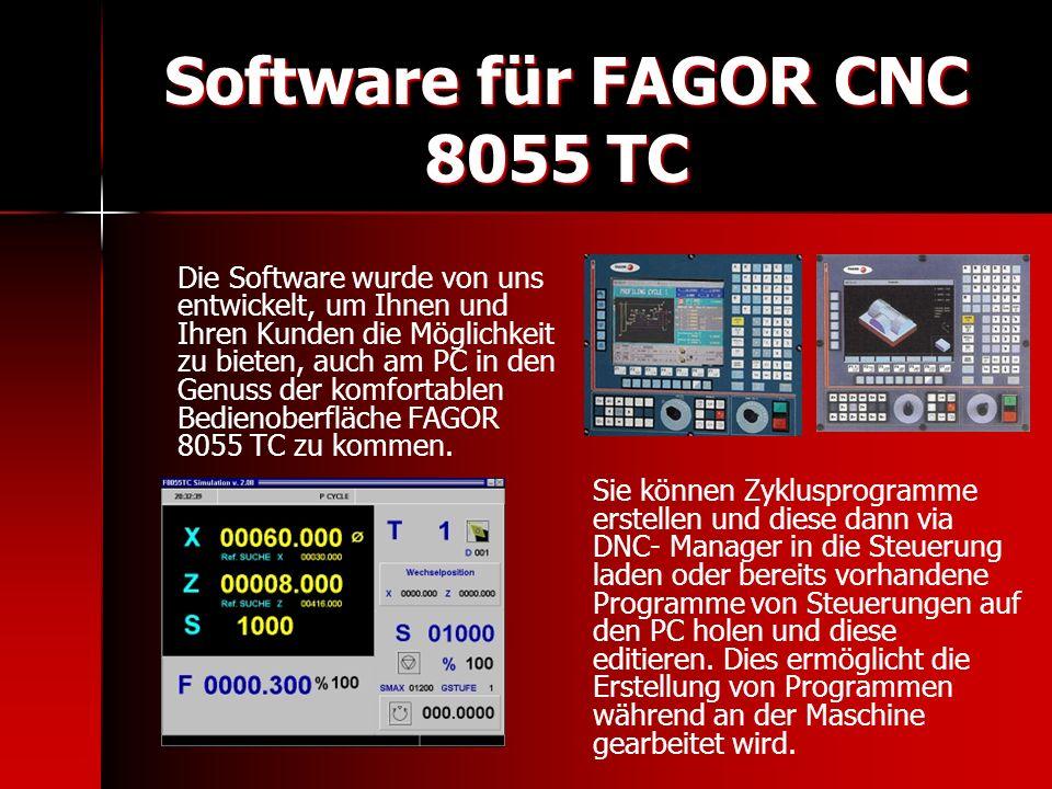 Software für FAGOR CNC 8055 TC