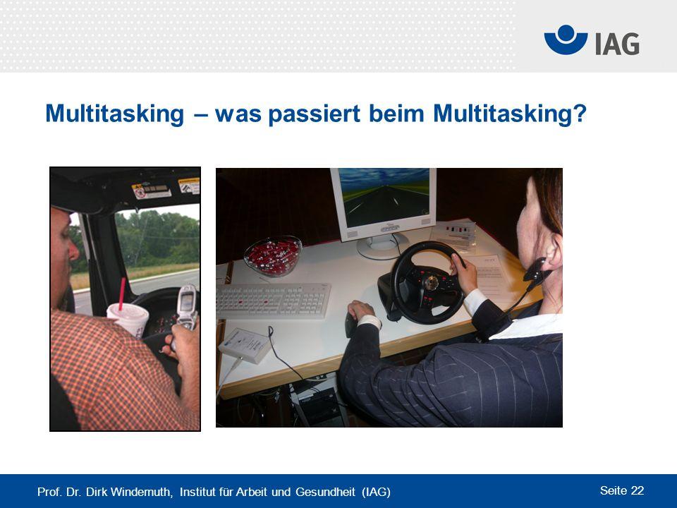 Multitasking – was passiert beim Multitasking